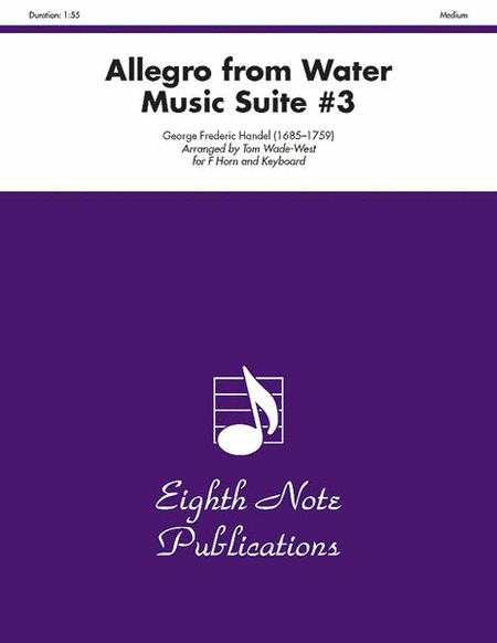 Allegro (from Water Music Suite #3)