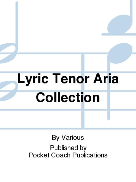 Lyric Tenor Aria Collection