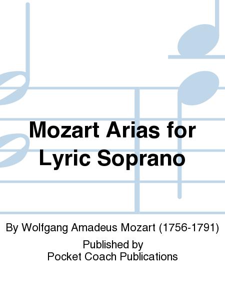 Mozart Arias for Lyric Soprano