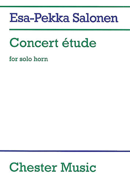 Concert Etude for Solo Horn