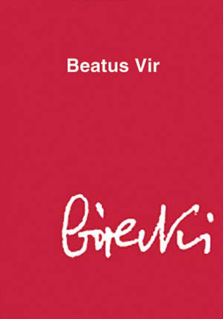 Henryk Gorecki: Beatus Vir (Study Score)