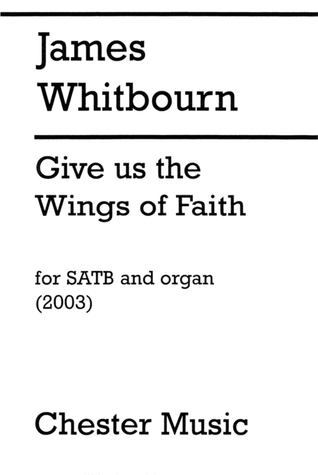 Give Us the Wings of Faith