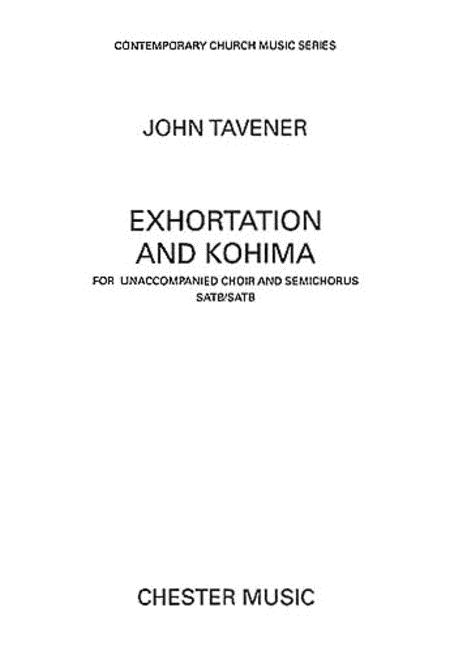 Exhortation and Kohima