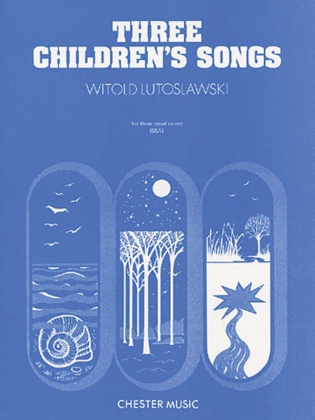 Three Children's Songs