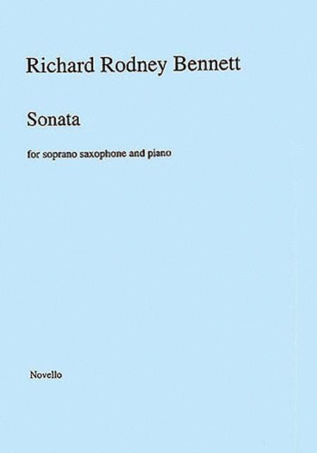 Richard Rodney Bennett: Sonata for Soprano Saxophone and Piano