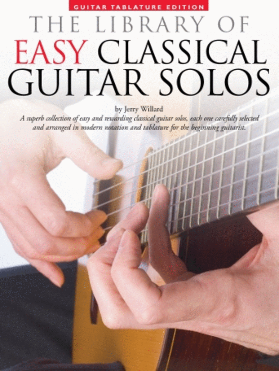 Library of Easy Classical Guitar Solos