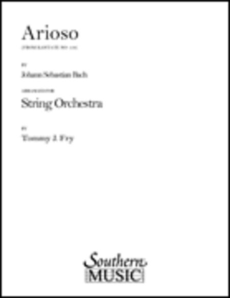 Arioso Cantata 156