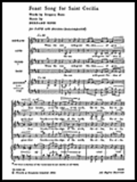 Feast Song for St Cecilia