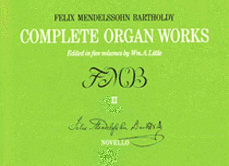 Complete Organ Works - Volume II
