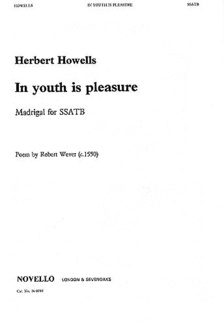 In Youth Is Pleasure