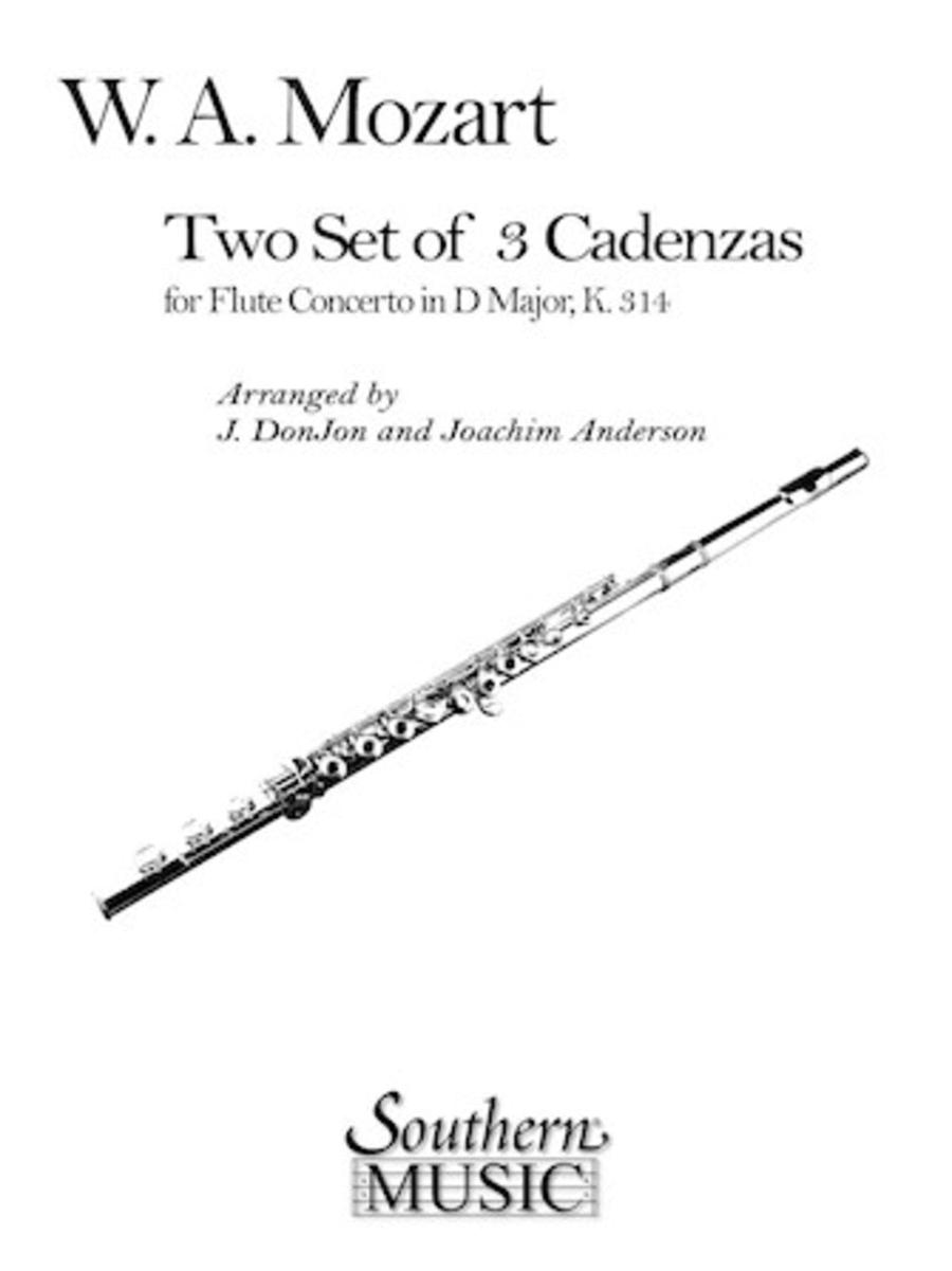 Three Cadenzas in D Major
