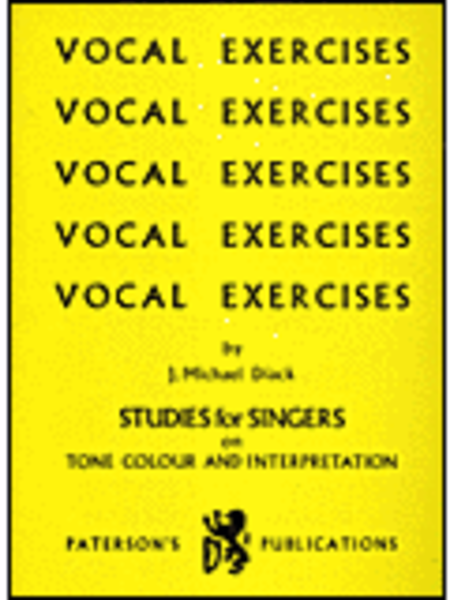 Vocal Exercises - Studies for Singers