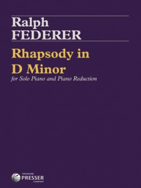 Rhapsody in D Minor
