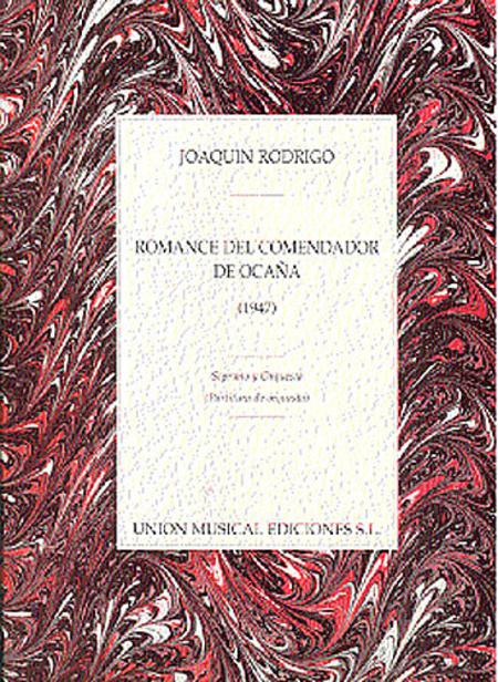 Joaquin Rodrigo: Romance Del Comendador De Ocana (1947)