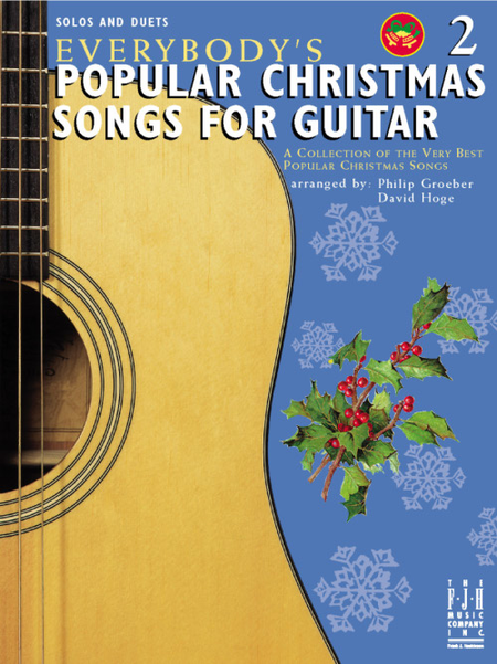 Everybody's Popular Christmas Songs for Guitar, Book 2
