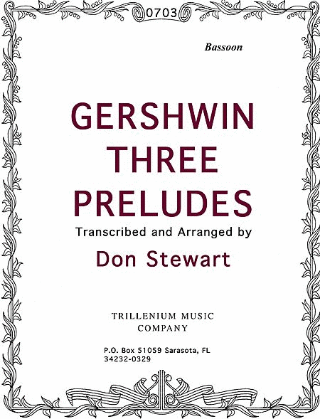 Gershwin Three Preludes