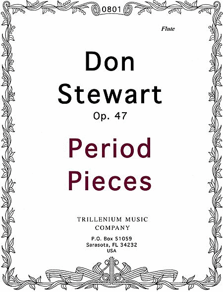 Period Pieces with NooGlu (Wind Quintet No. 3)