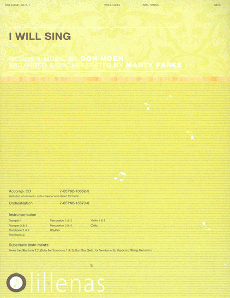 I Will Sing (Anthem)