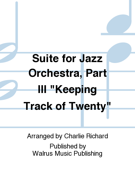 Suite for Jazz Orchestra, Part III