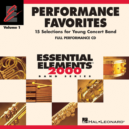 Performance Favorites, Vol. 1 - Full Performance CD