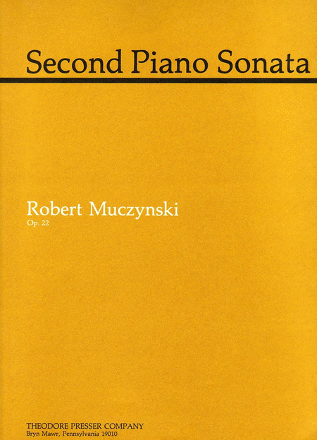 Second Piano Sonata