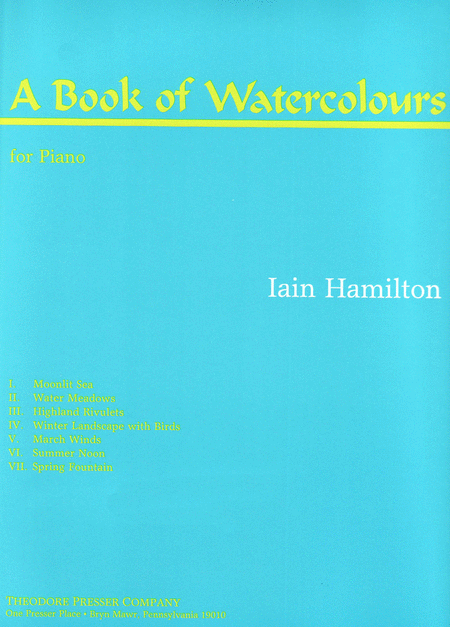 A Book of Watercolours