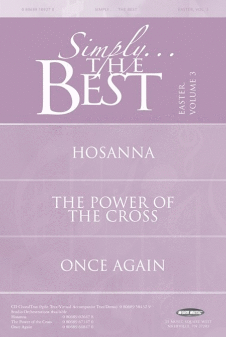 Simply The Best: Easter Volume 3