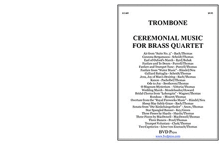 Ceremonial Music for Brass Quartet