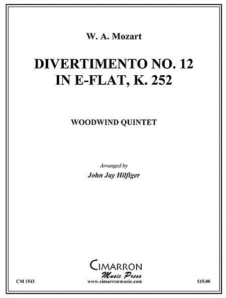 Divertimento No. 12 in Eb, K. 252