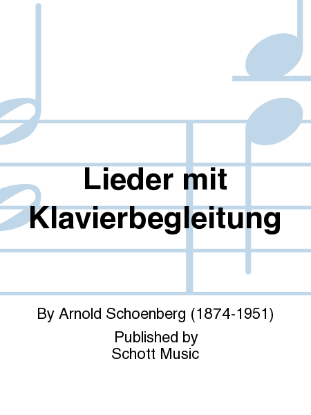 Lieder mit Klavierbegleitung