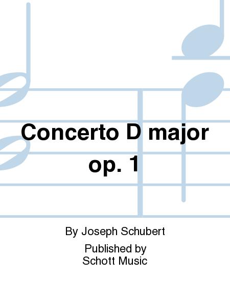 Concerto D major op. 1