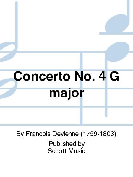Concerto No. 4 G major