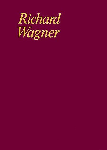 Rienzi, der Letzte der Tribunen WWV 49 Band III/5