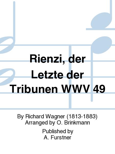 Rienzi, der Letzte der Tribunen WWV 49
