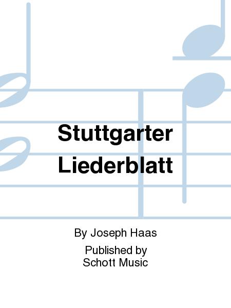 Stuttgarter Liederblatt