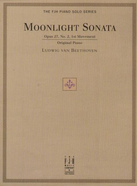 Moonlight Sonata (Op. 27, No. 2, 1st Movement)