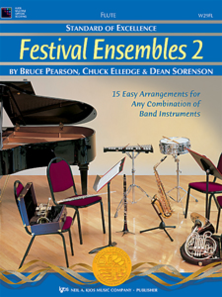 Standard of Excellence: Festival Ensembles 2 - Drums, Timpani, Auxiliary Percussion