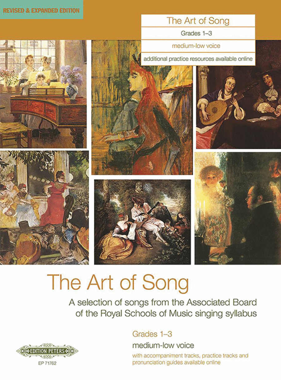 The Art of Song (Grades 1-3, medium low voice)