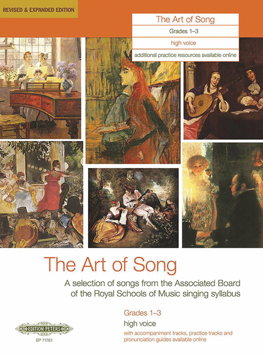 The Art of Song (Grades 1-3, medium high voice)