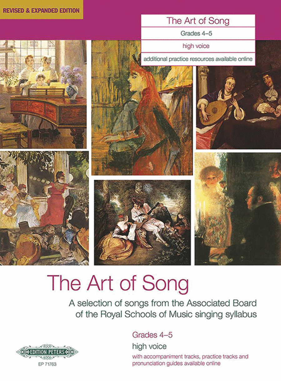The Art of Song (Grades 4-5, medium high voice)
