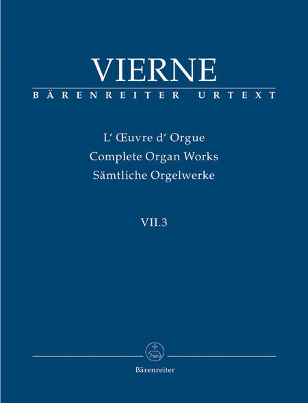 Pieces de Fantaisie en quatre suites, Livre III, Op. 54