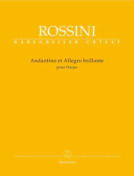 Andantino et Allegro brillante pour Harpe
