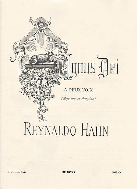 Agnus Dei - Chant (Soprano et Baryton) et Orgue