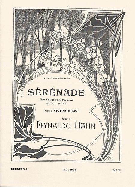 Serenade - Chant (Tenor et Baryton) et Piano