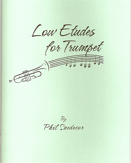 Low Etudes for Trumpet