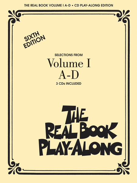 The Real Book Play-Along - Volume 1 A-D