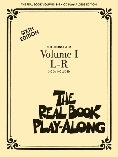 The Real Book Play-Along - Volume 1 L-R