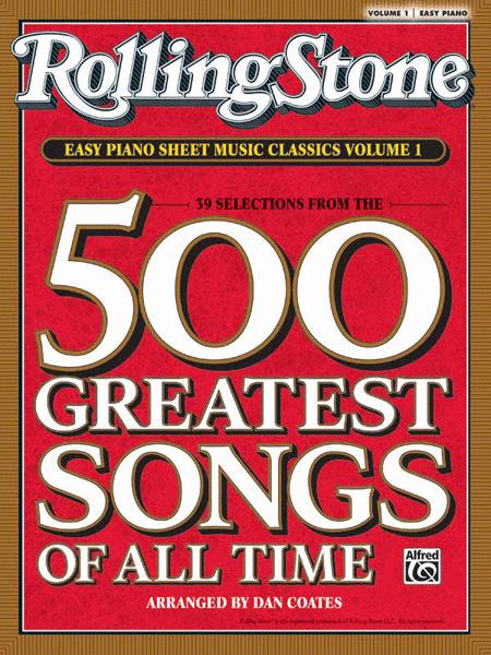 Rolling Stone Easy Piano Sheet Music Classics, Volume 1