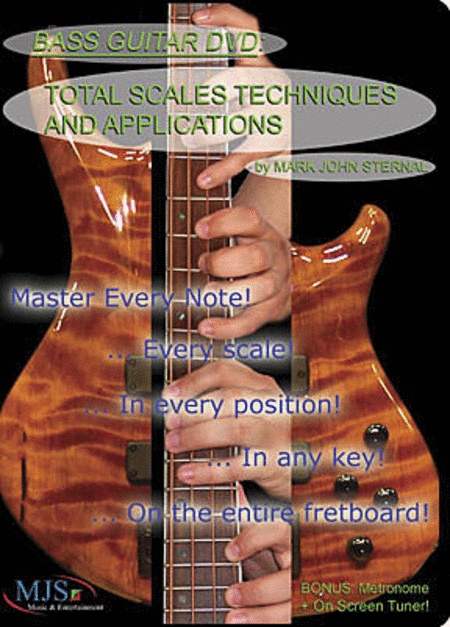 BASS GUITAR: Total Scales Techniques and Applications (DVD)