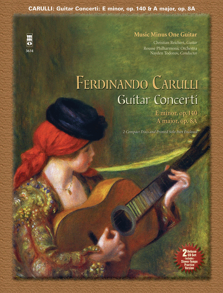 CARULLI: Two Guitar Concerti (E minor, Op. 140 and A major, Op. 8a)